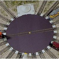 """Atlas 2790 N Gauge Manually Operated Turntable, 7.5"""" diameter"""