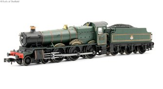 "Dapol 2S-019-005D Class 6800 4-6-0 6837 ""Forthampton Grange"" in BR lined green with early emblem. DCC Fitted"