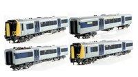 Class 350/1 Desiro 4 Car EMU 350 111 'Apollo' Silver Link (Unbranded)