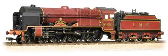 Royal Scot Class 6130 'The West Yorkshire Regiment' LMS Crimson