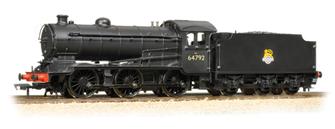 J39 Class 0-6-0 64792 BR Black Early Emblem