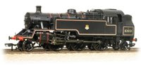 OO Scale BR Standard Class 3MT Tank 82021 BR Lined Black E/Emblem