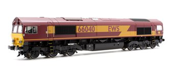 Class 66 040 EWS Livery Diesel Locomotive DCC SOUND - FREE UK POST