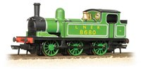 LNER J72 Class 8680 LNER Lined Green