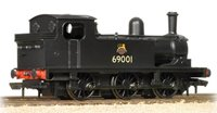 LNER J72 Class 69001 BR Black Early Emblem