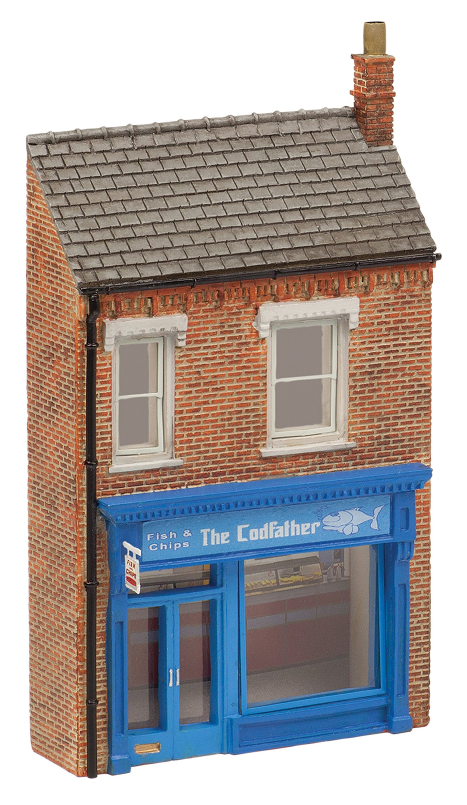 Low Relief 'The Cod Father' Fish & Chip Shop *2017 Range*
