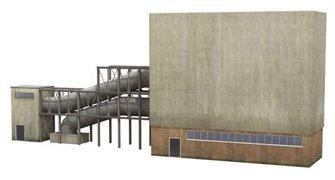 Low Relief Turbine Hall