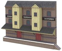 OO Scale Low Relief Bonded Warehouse