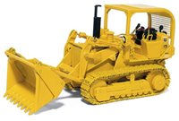 International 175 Crawler with 4-in-1 Bucket U.S. Forestry