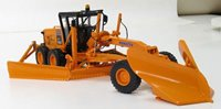 Komatsu GD655 Motor Grader with V-Plow & Wing D.O.T. Orange