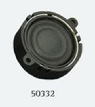 Loudspeaker 23mm, round, 4 Ohms, 1~2W with sound chamber - Loksound 4.0/Micro 4.0