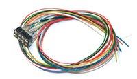 ESU 51950 Cable harness 8-pin NEM 652, DCC colour, length 300mm