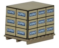 Oxford Diecast 76ACC001 Pallet with Load - Aspro (4)