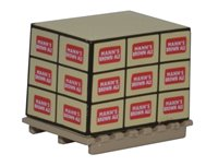 Oxford Diecast 76ACC002 Pallet with Load - Manns Brown Ale (4)