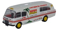 Oxford Diecast 76BMC004 BMC Mobile Unit Booking Office Harris Coaches