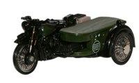 Post Office Telephones BSA Motorcycle & Sidecar