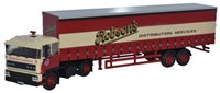 Oxford Diecast 76D28001 DAF2800 40ft Curtainside Robsons