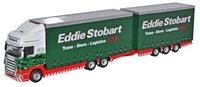 Oxford Diecast 76DBU001 Scania Topline Drawbar Unit Eddie Stobart