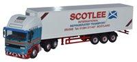 Oxford Diecast 76EC001 ERF EC Olympic 40ft Fridge Scotlee Transport