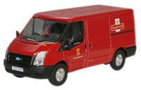 "Oxford Diecast 76FT002 Ford Transit van with low roof ""Royal Mail"" (C)"