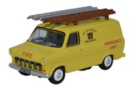 Oxford Diecast 76FT1004 Ford Transit Mk1 City of Carlisle Fire Service