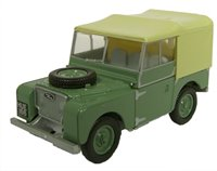 Oxford Diecast 76LAN180001 Sage Green HUE Land Rover Series I 80