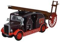 Oxford Diecast 76LC001 Leyland Cub FK7 Newcastle City Fire Brigade