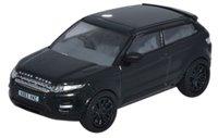 Oxford Diecast 76RR004 Range Rover Evoque Santorini Black