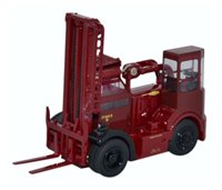 Oxford Diecast 76SDF002 Shelvoke & Drewry Fork Freightlifter British Rail(Crimson)