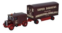 Oxford Diecast 76SST005 Scammell Showtrac/Dodgem Trailer Anderton & Rowlands