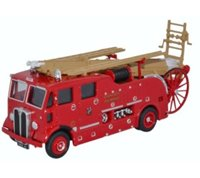 Oxford Diecast 76REG007 AEC Regent III Pump Escape Cardiff City Fire Service