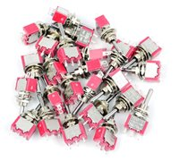 Bulk Pack of 25 Mini-Toggle Switches for Point Motors