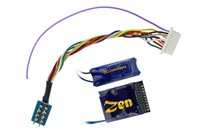 DCC Concepts DCD-Z218  ZEN 218 21 & 8 Pin 4 Function Decoder w/Stay Alive