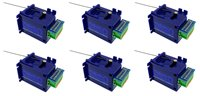 DCC Concepts DCP-CB6 Omega COBALT Omega Slow Action Analogue Point Motor (6 Pack)