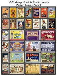 Food & Confectionary Poster Boards Pack 1