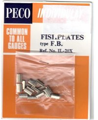 Nickel Silver Fishplates for Flat Bottom Rail