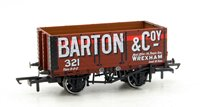 Oxford Rail OR76MW7020 7 Plank Mineral Wagon - Barton and Co No 321