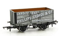 Oxford Rail OR76MW7019 7 Plank Mineral Wagon - George & Co 251