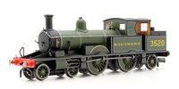 Oxford Rail OR76AR006 Adams Radial Steam Locomotive - Southern 3520 - FREE UK POST