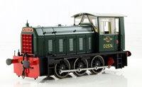 Heljan BR Hunslet Class 05 Diesel Shunter #D2574 BR Green - Type A