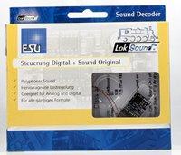 """Loksound v4.0 Diesel """"Class 37"""" Digital Sound Decoder with Speaker - 21 pin"""