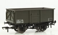 16 Ton Steel Mineral Wagon Departmental Olive Green Without Top Flap Doors
