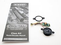 Hornby Digital Class A4 Steam Locomotive DCC TTS Sound Decoder and Speaker