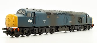 Class 40 97407 'Aureol' BR Blue Departmental Weathered Diesel Locomotive