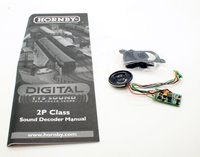 Hornby Digital Fowler Class 2P Steam Locomotive DCC TTS Sound Decoder and Speaker