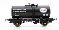 Heljan 1010 B Tank ESSO 3305 (black with ESSO PETROLEUM lettering on barrel)