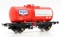 Heljan 1108 B Tank MOBIL CHARRINGTON FUEL OIL 249 (red)