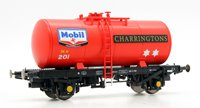 Heljan 1109 B Tank MOBIL CHARRINGTONS 201 (red)