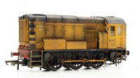 Custom Finished CLass 08 417 Network Rail Diesel Shunter Locomotive Weathered