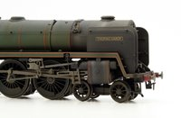 Custom Finished 'Thomas Hardy' BR Green Britannia Class Locomotive 70034 Weathered